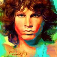 """""""Jim Morrison Wall Art"""" by artofvela"""
