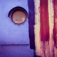 Porthole, Kingston, NY, 1974   (Vintage Color!)