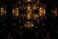 Fractal generated mask