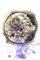 Star Wars Death Star Art