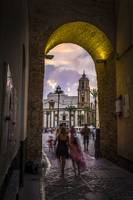 Arc Of The Rose Cadiz Spain