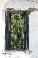 Window in Deteriorating House