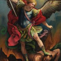 """""""Saint Michael the Arcangel"""" by decoratifcollections"""