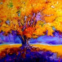 OLD TREE by Marcia Baldwin