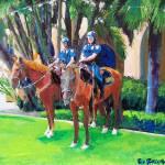 Patrol Officers Balboa Park by RD Riccoboni