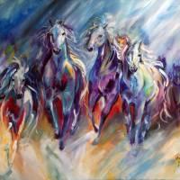 BLUE THUNDER RUN by Marcia Baldwin