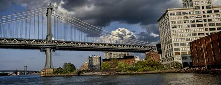 Manhattan Bridge & Brooklyn Bridge Park
