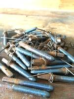 Blue Rust Tuning Pins