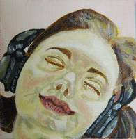 Music Two. Woman with headphones