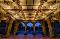 Bethesda Terrace Arcade Underpass near Night