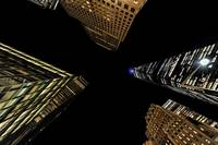 Lower Manhattan Overhead Extreme Perspectives