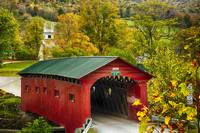 Scenic Covered Bridge of West Arlington