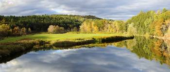 Bath NH Autumn Panorama