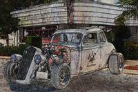 Rat Rod 3 Illustration