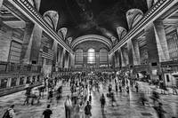 Grand Central Terminal in Black and White