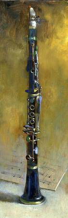 Clarinet by Hall Groat II, Commissioned Paintings