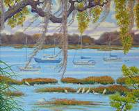 Beaufort Anchorage -  24x30