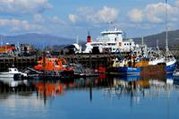 Mallaig Harbor Scotland