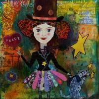 Star girl Art Prints & Posters by Maria Greene