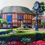 Old Globe Theater Balboa Park San Diego by RD Riccoboni