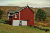 Catskill Red Barn