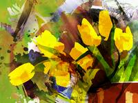 modern-tulips-art-10000-yellow