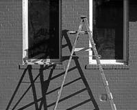 Ladder, Greenwich Village,  NYC