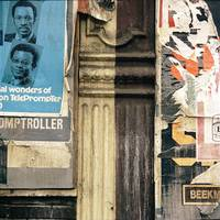Column and posters  Vintage Color 1973