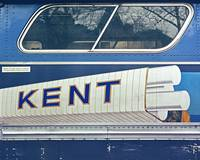 Kent (Pop Art on a Bus)  Vintage Color
