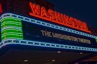 The Washington Theater at Night