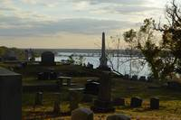 Woodlawn Cemetery View of the Mississippi