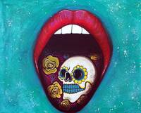 Mouth Full Of Sugar Skull