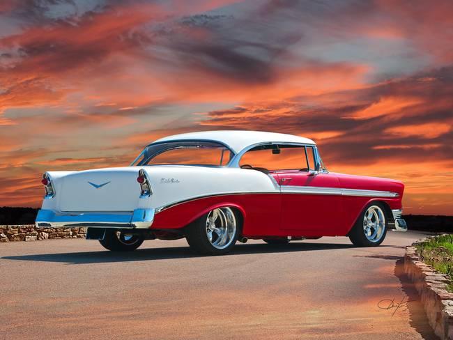 Stunning 1956 Chevrolet Bel Air Artwork For Sale On Fine Art Prints