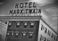 The Hotel Mark Twain in '30s Style Film Emulsion