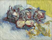 Van Gogh, Red cabbages and onions