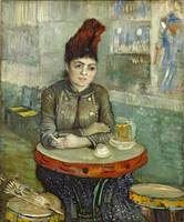 Van Gogh, In the café Agostina Segatori in Le tamb