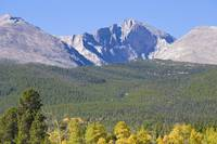 Autumn View of CO Rocky Mountains Longs Peak
