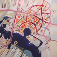 imaginary map ob Abu Dhabi