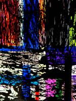 9103, #17, ABSTRACT PAINTED PHOTOGRAPHIC ART COLLE