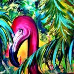 Flamingo by Kris Courtney