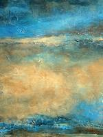 Abstract Coastal Artwork DEWPOINT , Holly Anderson