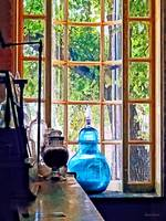 Blue Apothecary Bottle