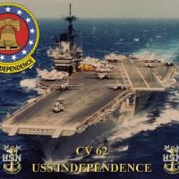 """CV-62 USS Independence"" by milmerchant"
