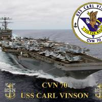 """CVN-70 USS Carl Vinson"" by milmerchant"