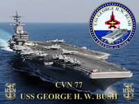 CVN-77 USS George H.W. Bush