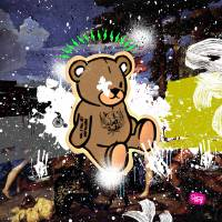 Teddy_rocks Art Prints & Posters by Jimmy Birdy