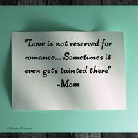 Love is not reserved
