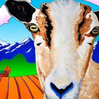 Smokin Goat Art Prints & Posters by Phil Dynan