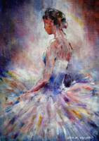 Ballet Art Gallery - Contemplating