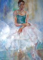 Sitting Elegantly - Ballet Dancer